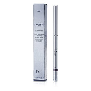 Christian Dior Diorshow Liner Waterproof Long Lasting Backstage Eyeliner - # 888 Plum 0.3g/0.01oz