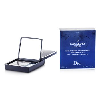 Christian Dior3 Couleurs Smoky Ready To Wear Paleta Ojos - # 481 Smoky Khaki 5.5g/0.19oz
