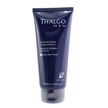 Thalgo Thalgomen Wake-Up Shower Gel - Body & Hair  200ml/6.7oz