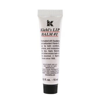 Kiehl'sLip Balm # 1 Tube (Petrolatum Skin Protection) 15ml/0.5oz