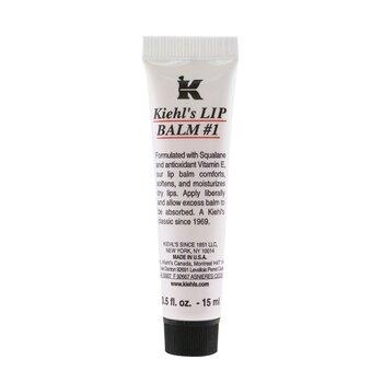 Kiehl's Lip Balm - Balsem Bibir # 1 Tube ( Petrolatum Pelindung Kulit )  15ml/0.5oz