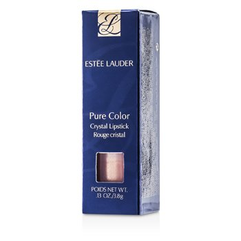 Estee Lauder New Pure Color Crystal Lipstick - # 04 Nude Peach (Shimmer)  3.8g/0.13oz