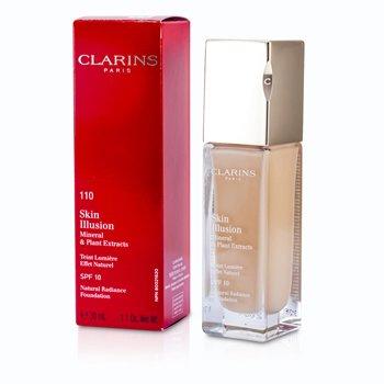 Clarins Nawil�aj�co-roz�wietlaj�cy podk�ad w p�ynie Skin Illusion Natural Radiance Foundation SPF 10 - #110 Honey  30ml/1.1oz