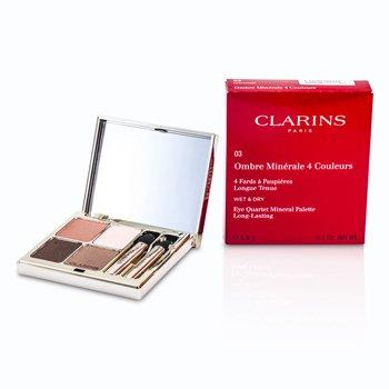 Clarins Paleta 4 Sombras de Ojos Minerales - # 03 Rosewood  5.8g/0.2oz