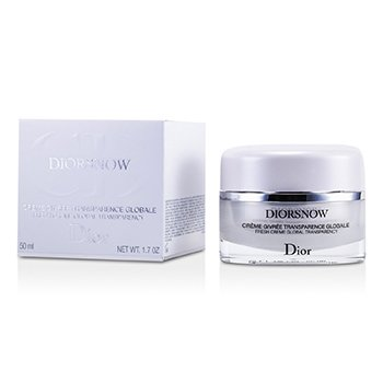 Christian Dior Diorsnow Crema Fresca Transparencia Global  50ml/1.7oz