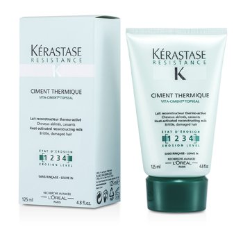 ResistanceResistance Ciment Thermique - Heat-Activated Reconstructor Milk (For Brittle, Damaged Hair) 125ml/4.8oz