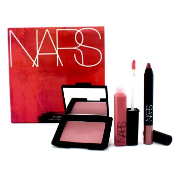 NARS I Will Survive Lip & Cheek Set (1xVelvet Matte Lip Pencil, 1xLip Gloss, 1xBlush)  3pcs