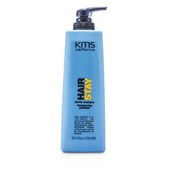 KMS California Hair Stay Очищающий Шампунь (Глубоко Очищает и Удаляет Налет) 750ml/25.3oz