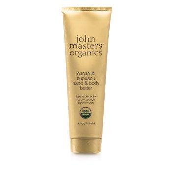 John Masters Organics Manteca de Cacao & Cupuacu para Manos y Cuerpo  118ml/4oz