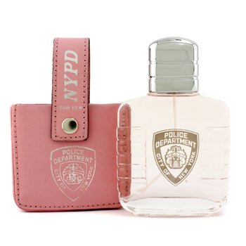 NYPD For Her Eau De Toilette Spray (with Leather Bag)  100ml/3.3oz