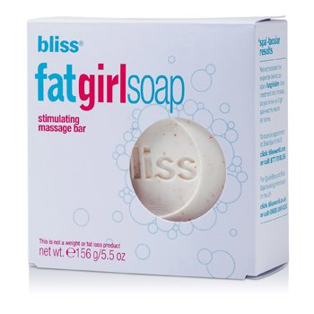 BlissFat Girl Soap Circulation-Stimulating Massage Bar 156g/5.5oz