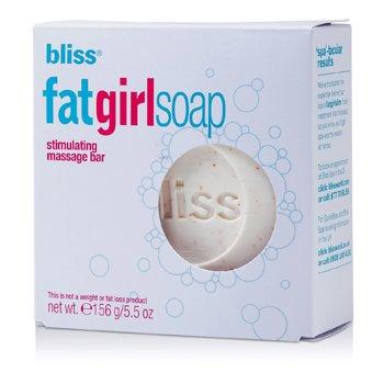 BlissFat Girl Soap Circulation-Stimulating Massage Bar 156g/5.5oz