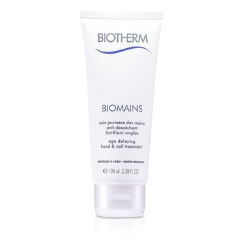 BiothermBiomains Age Delaying Hand & Nail Treatment - Water Resistant 100ml/3.38oz