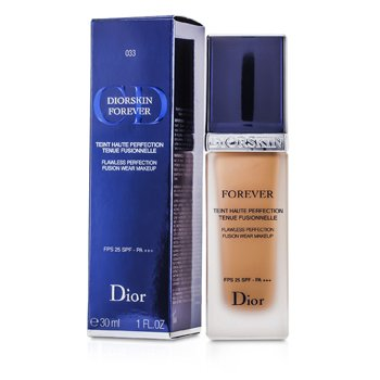 Christian Dior Forever Flawless Perfection Fusion Wear Makeup SPF 25 - #033 Apricot Beige  30ml/1oz