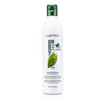 Matrix Biolage Scalptherapie Cool Mint Shampoo (For Normal To Oily Scalp & Hair)  500ml/16.9oz