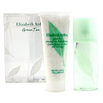 Elizabeth Arden Green Tea Coffret: Eau Parfumee Spray 100ml/3.3oz + Honey Drops Body Cream 200ml/6.8oz  2pcs