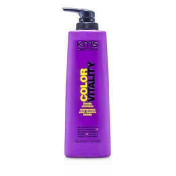 KMS California Szampon do w�os�w farbowanych na blond Color Vitality Blonde Shampoo (Illumination & Restored Radiance)  750ml/25.3oz