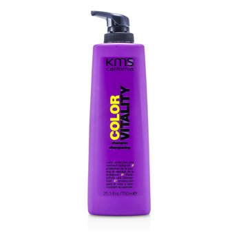 KMS California Color Vitality Shampoo (Color Protection & Restored Radiance)  750ml/25.3oz