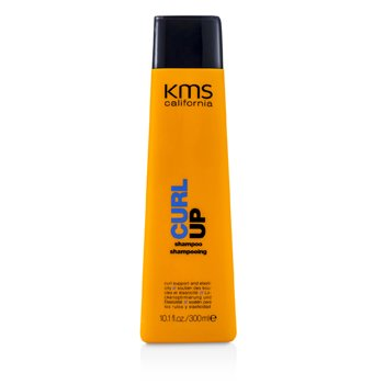 KMS CaliforniaSzampon do w�os�w kr�conych Curl Up Shampoo (Curl Support & Elasticity) 300ml/10.1oz
