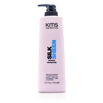 KMS CaliforniaNab�yszczaj�cy szampon do w�os�w Silk Sheen Shampoo (Shine & Movement) 750ml/25.3oz
