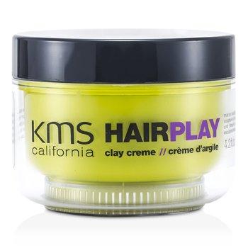 KMS California Hair Play Clay Creme (Matte Sculpting & Texture) 125ml/4.2oz