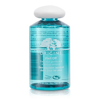 OriginsWell Off Fast & Gentle Eye Makeup Remover 150ml/5oz