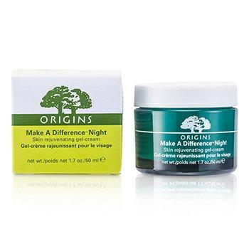 OriginsCreme gel Make A Difference Night Skin Rejuvenating 50ml/1.7oz