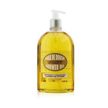 L'Occitane�leo de amendoa Almond Cleansing & Soothing Shower Oil 500ml/16.7oz