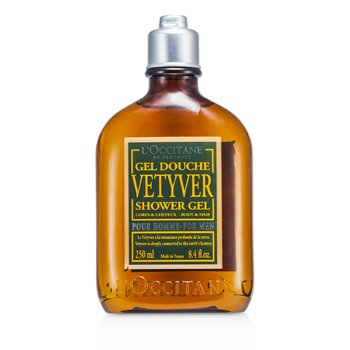 L'Occitane Vetyver Shower Gel  250ml/8.4oz
