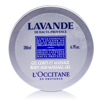 L'OccitaneGel de massagem Lavender Harvest Body and Massage Gel 200ml/6.7oz
