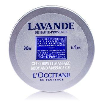 L'OccitaneGel de massagem Lavender Harvest Body and Massage Gel 200ml/6.7oz