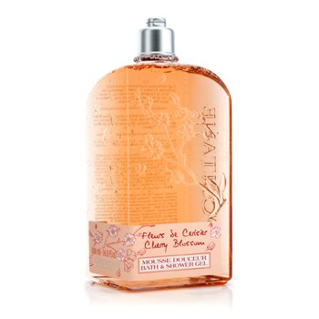 L'Occitane Cherry Blossom Bath & Shower Gel  500ml/16.7oz