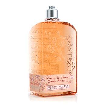 L'Occitane Cherry Blossom Bath & Shower Gel 500ml/16.7oz