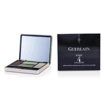 Guerlain Ecrin 4 Couleurs Long Lasting Eyeshadow - #03 Les Verts  7.2g/0.25oz