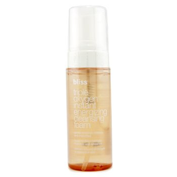 BlissTriple Oxygen Instant Energizing Cleansing Foam 148ml/5oz
