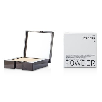 Korres Multivitamin Lightweight/Matte Finish Compact Powder - # MVP3  10g/0.35oz