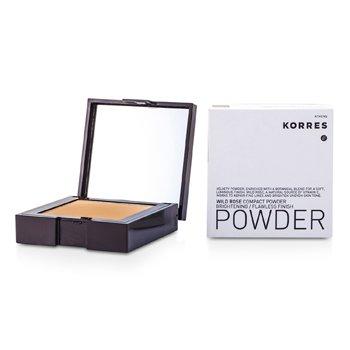 Korres Wild Rose Brightening Flawless Finish Compact Powder - WRP7 (Bronze)  10g/0.35oz
