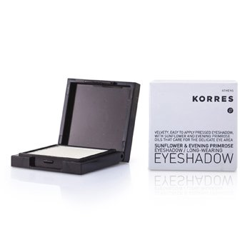 Korres Sunflower & Evening Primrose Eye Shadow - # 10 White  1.8g/0.06oz