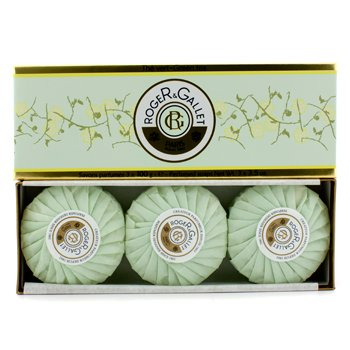 Roger & GalletGreen Tea (The Vert) Perfumed Soap Coffret 3x100g/3.5oz
