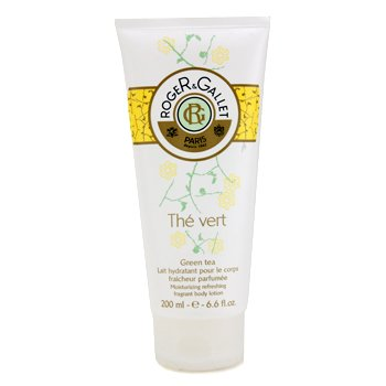 Roger & GalletGreen Tea (The Vert) Moisturizing Refreshing Fragrant Body Lotion 200ml/6.6oz