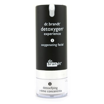Dr. Brandt Detoxygen Experience: Oxygenating Facial 1.7oz + Detoxifying Creme Concentrate 1oz 50g+30g
