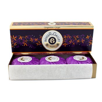Roger & Gallet Gingembre (Ginger) Perfumed Soap Coffret 3x100g/3.5oz