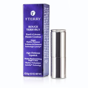 By Terry Rouge Terrybly Age Defense Lipstick - # 303 Torrid Rose  3.5g/0.12oz