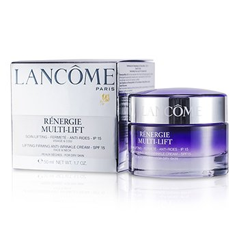 LancomeRenergie Multi-Lift Lifting Firming Anti-Wrinkle Cream SPF 15 (For Dry Skin) 50ml/1.7oz