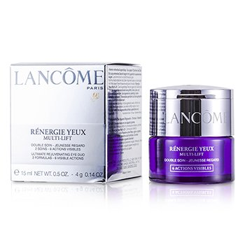 LancomeRenergie Multi-Lift Ultimate Rejuvenating Eye Duo: Cream + Veil 2pcs