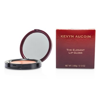 Kevyn AucoinThe Elegant Lip Gloss - # Molasses (Warm Taupe Apricot) 3.65g/0.13oz