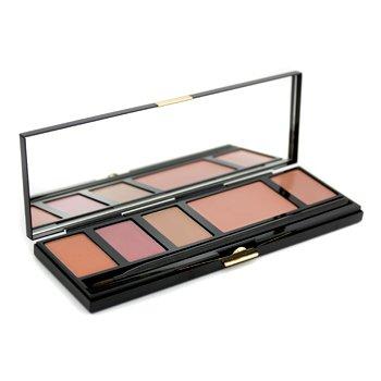 Kevyn AucoinThe Lip & Cheek Palette (3x Lipgloss, 1x Cream Blush, 1x Lipstick)