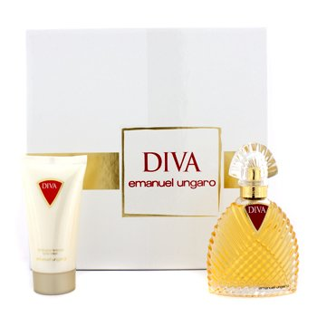 Ungaro Diva Coffret: Eau De Parfum Spray 50ml/1.7oz + Body Lotion 50ml/1.7oz  2pcs