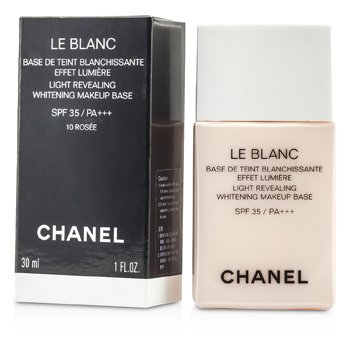 ChanelLe Blanc M�u S�ng Revealing L�m Trắng Make Up Base SPF 35 - #10 Rosee 30ml/1oz