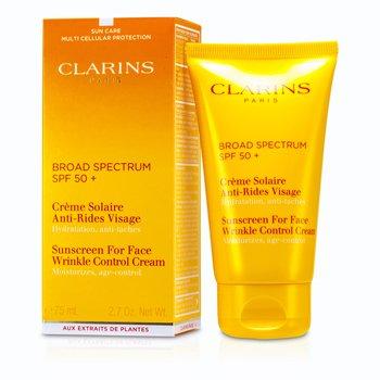 ClarinsPantalla Protectora Solar Anti arrugas alta protecci�n Rostro SPF 50+ 75ml/2.7oz